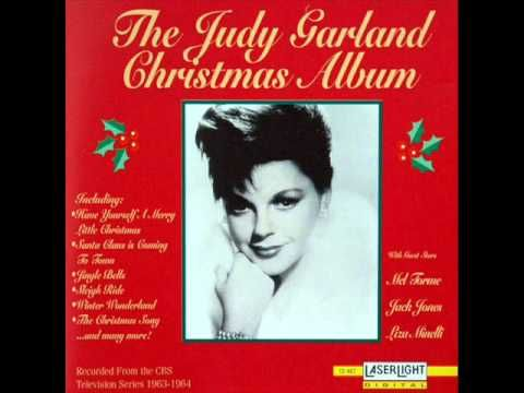 Have Yourself A Merry Little Christmas Judy Garland Judy Garland Judy Garland Show Christmas Albums