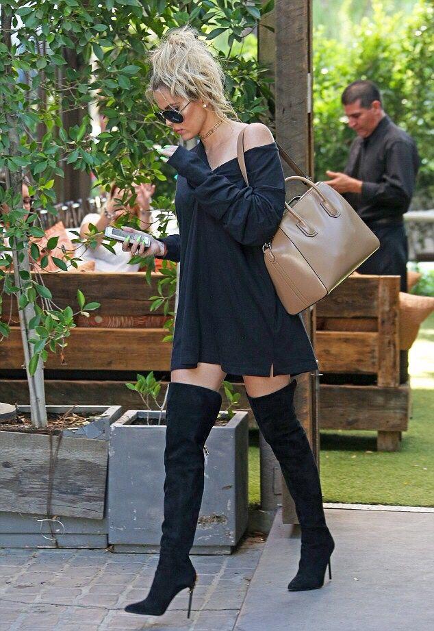 bc8d3d77b647 follow me!! pinterest  crokoye Khloe Kardashian Outfits