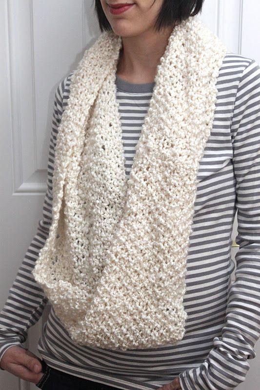 The Runaround Knit Cowl Free Pattern Knitting Pinterest