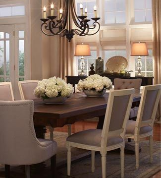 COMIDA FAMILIAR Destaca tu mesa de comedor en un llamativo y cálido ...