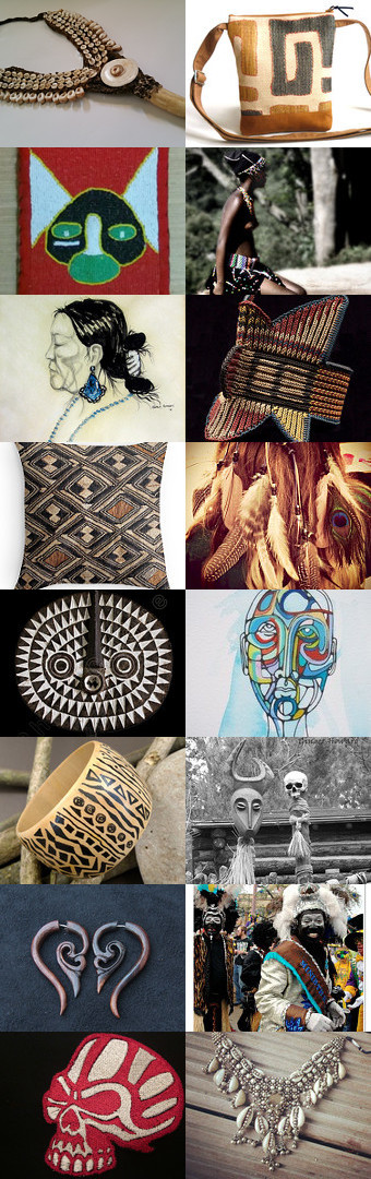 Tribal Vision by 3buu on Etsy--Pinned with TreasuryPin.com
