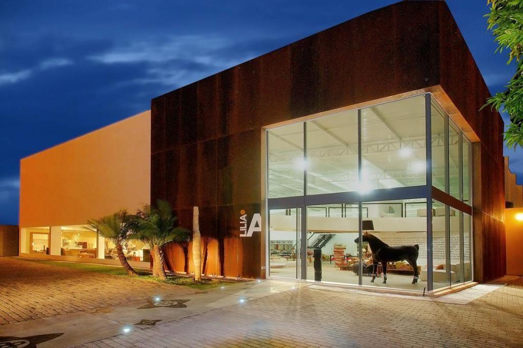 Revestimento para fachadas comerciais pesquisa google for Restaurantes modernos exterior