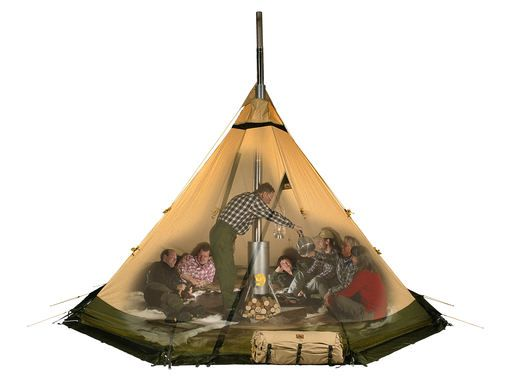 Safir Tent (for open fire or stove)   by Tentipi
