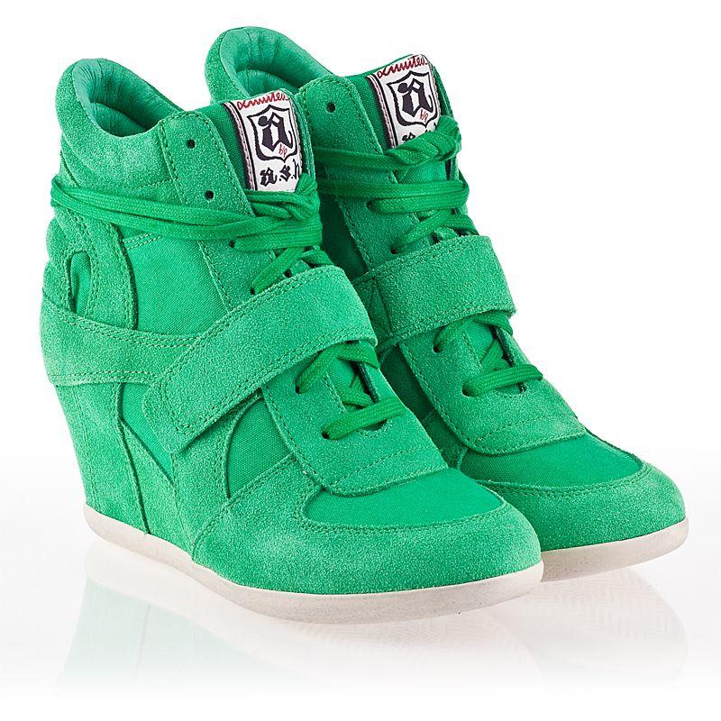 5d5d2c2b3d70 Ash Bowie Womens Wedge Sneaker Brazil Suede