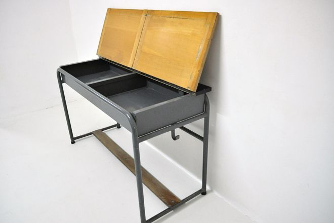 vintage village vintage school desk