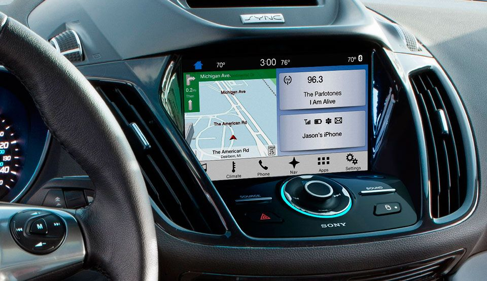 Ford Sync 3 Launches In The Escape And Fiesta This Summer Ford Sync Ford News Infotainment