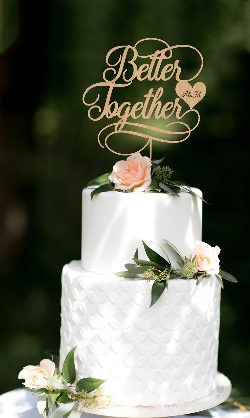 44++ Rustic wedding cake topper etsy ideas
