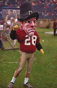 Image result for harvard university mascot john harvard the pilgrim