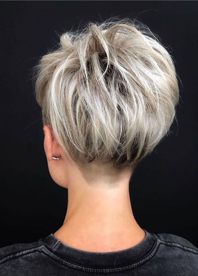 49 Totally Gorgeous Short Hairstyles For Women Page 41 Of 49 Short Textured Hair Short Hair With Layers Thick Hair Styles