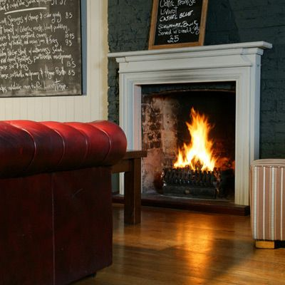 Open Fire With Brick Back In Dining Room Dont Like Firesurrounds This Though