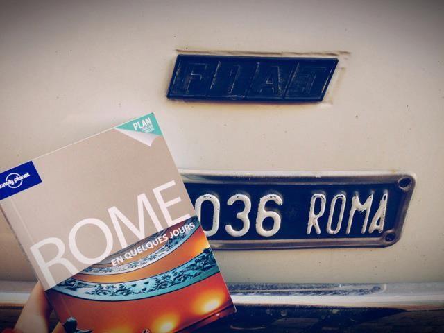 Noëmie G. en road trip à Rome!