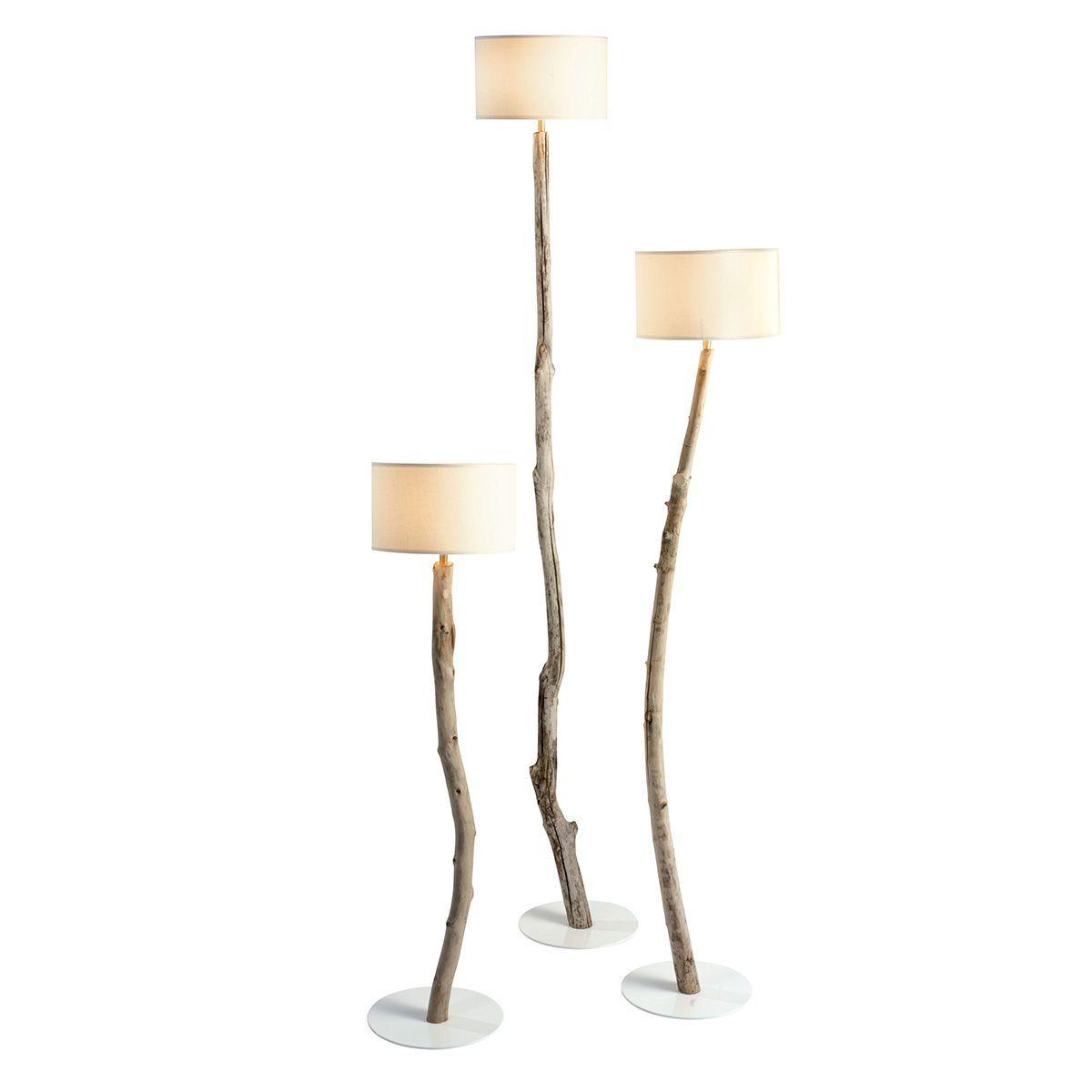 Stehende Lampe / originelles Design / für Innenbereich / Baumwolle