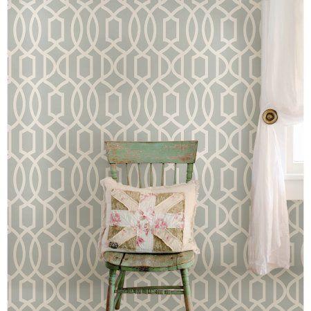 Home Improvement Peel and stick wallpaper, Trellis