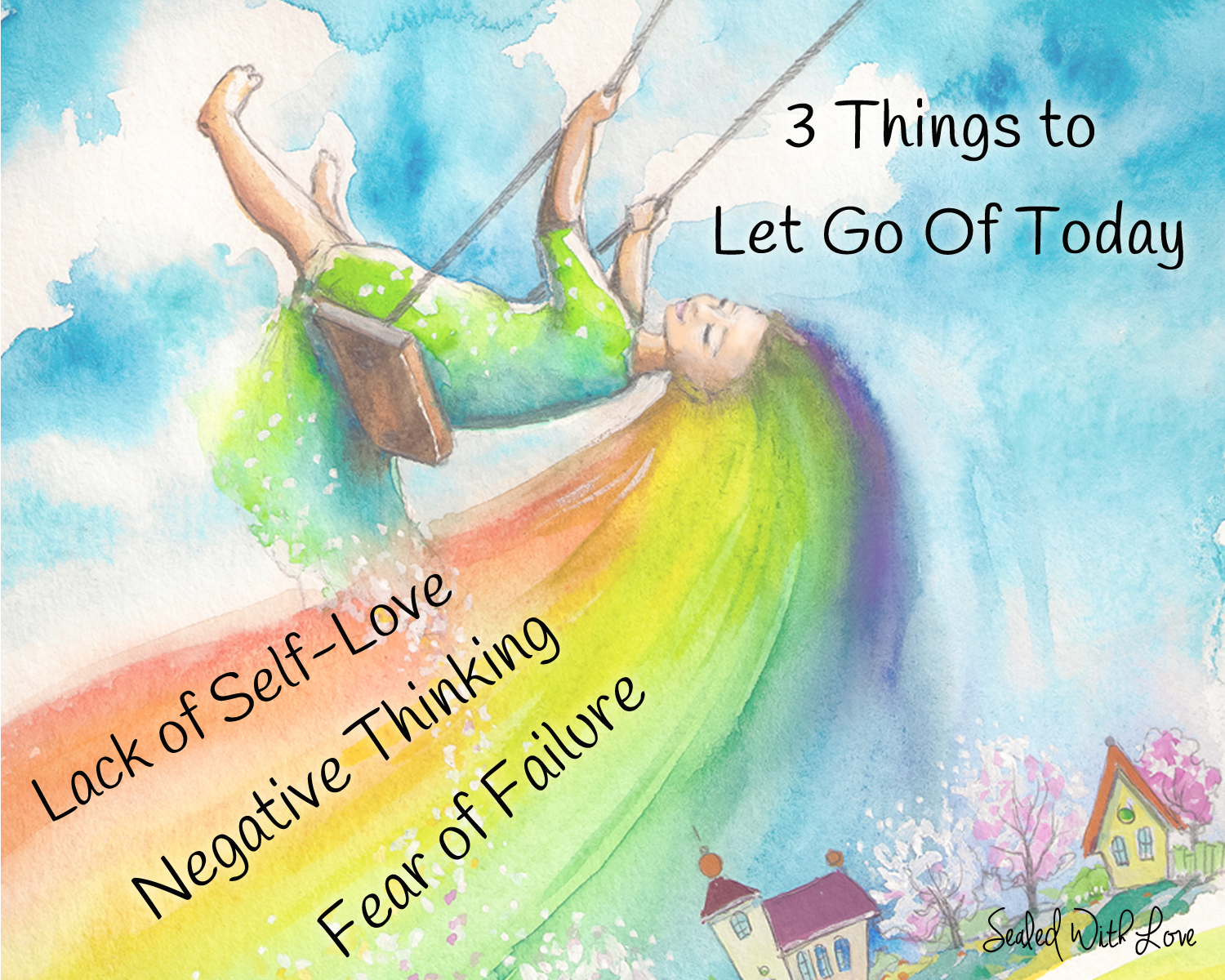 3 Things to Let Go Of Today <3