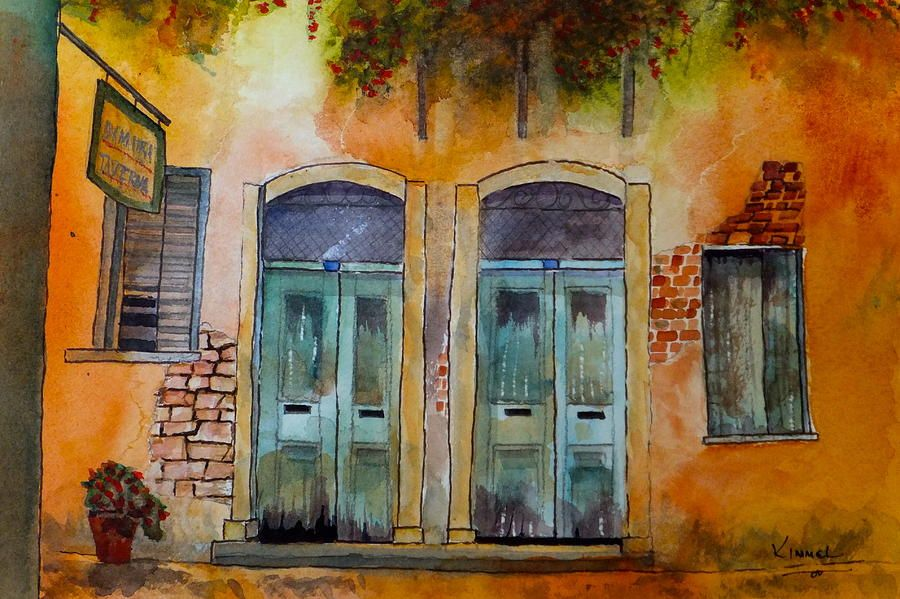 Wall Art Painting Next Door Neighbours By Harold Kimmel Affiliate Affiliate Sponsored Painting Door Kim In 2020 Painting Wall Art Painting Art Painting