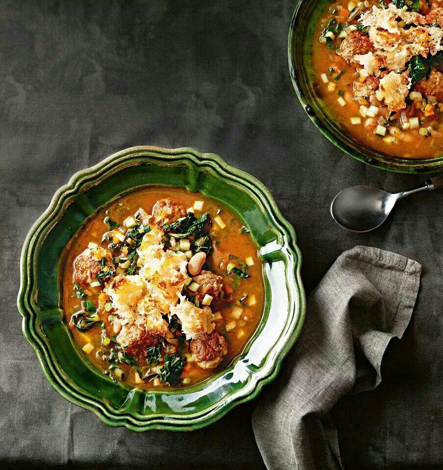 Meatballs recipes italian recipes delicious soup