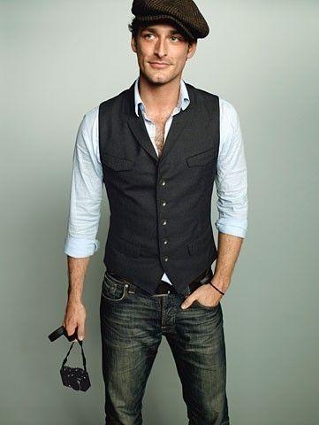 Mode jean gilet Gapette chemise Homme Pinterest Style dFXFxEaw