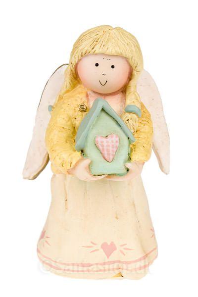 """The Angels of Love serien. """"Kærlighedens hjem"""" eller """"Home of Love"""" englen."""