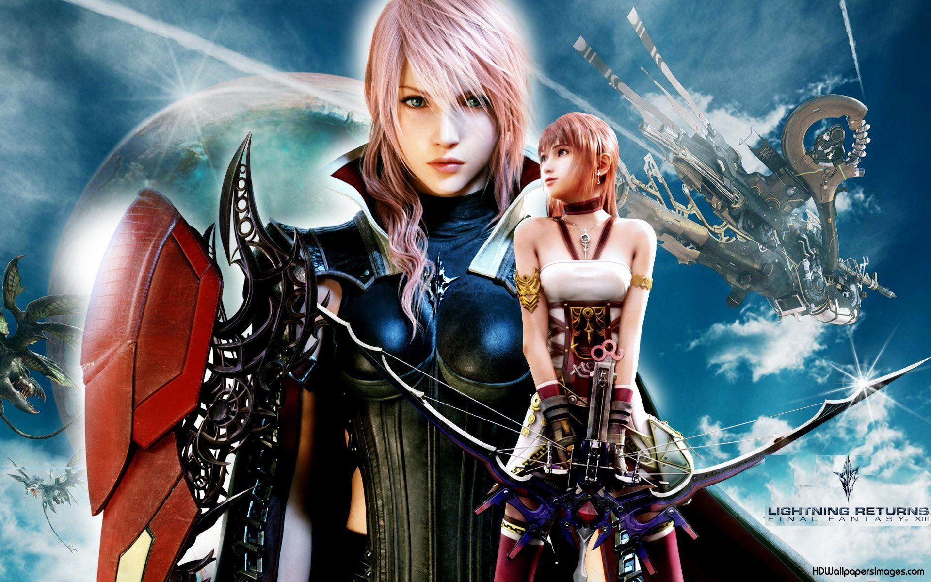 Lightning Returns Final Fantasy XIII Wallpaper Game