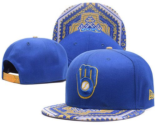 Cheap Wholesale Milwaukee Brewers Kaleidovize Snapback Hats for slae at US$8.90 #snapbackhats #snapbacks #hiphop #popular #hiphocap #sportscaps #fashioncaps #baseballcap