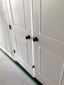 house updates: the first snag… | Bronze door knobs, Door knobs and ...