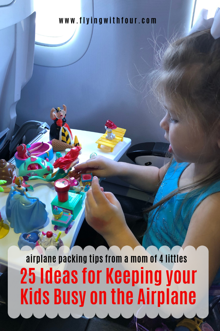 25 Ideas for keeping your kids BUSY on the AIRPLANE in ...