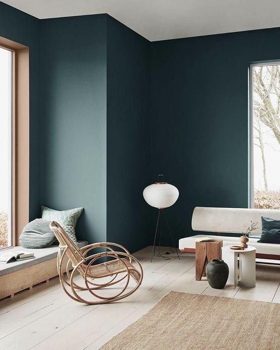 Yay or Nay: Moody Green Interiors