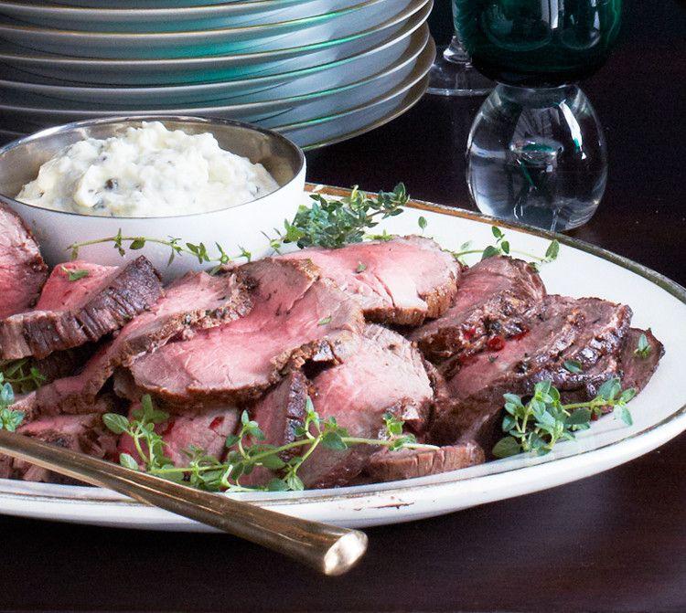 Roast beef tenderloin with horseradish cream recipe for Best dinner ideas ever