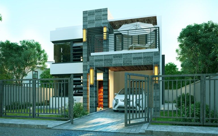 Home Design Plan 8x14m With 4 Bedrooms Home Plans Architectural House Plans Contemporary House Design Modern House Plans