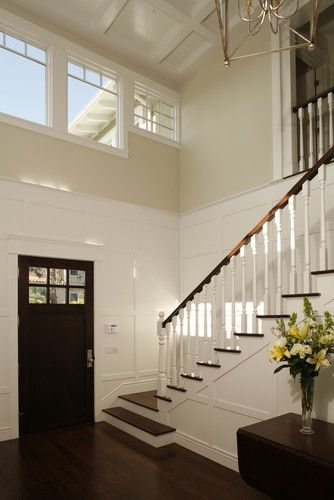 Foyer Lighting Zone : Two story entry foyer traditional for the home