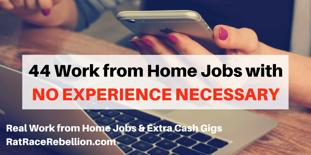 You don't always have to have experience to land a job or