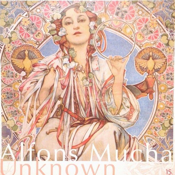 "Instagram media bunka_llc - Unknown Alfons Mucha at Museum ""Eki"" KYOTO, Japan (March 1 to 31st) #mucha_bunka #mucha"