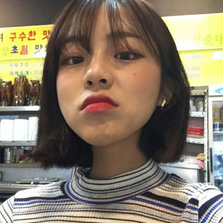 𝚋𝚎𝚝𝚛𝚊𝚢𝚘𝚘𝚗𝚐𝚒 | Girl short hair, Ulzzang hair, Korean short hair