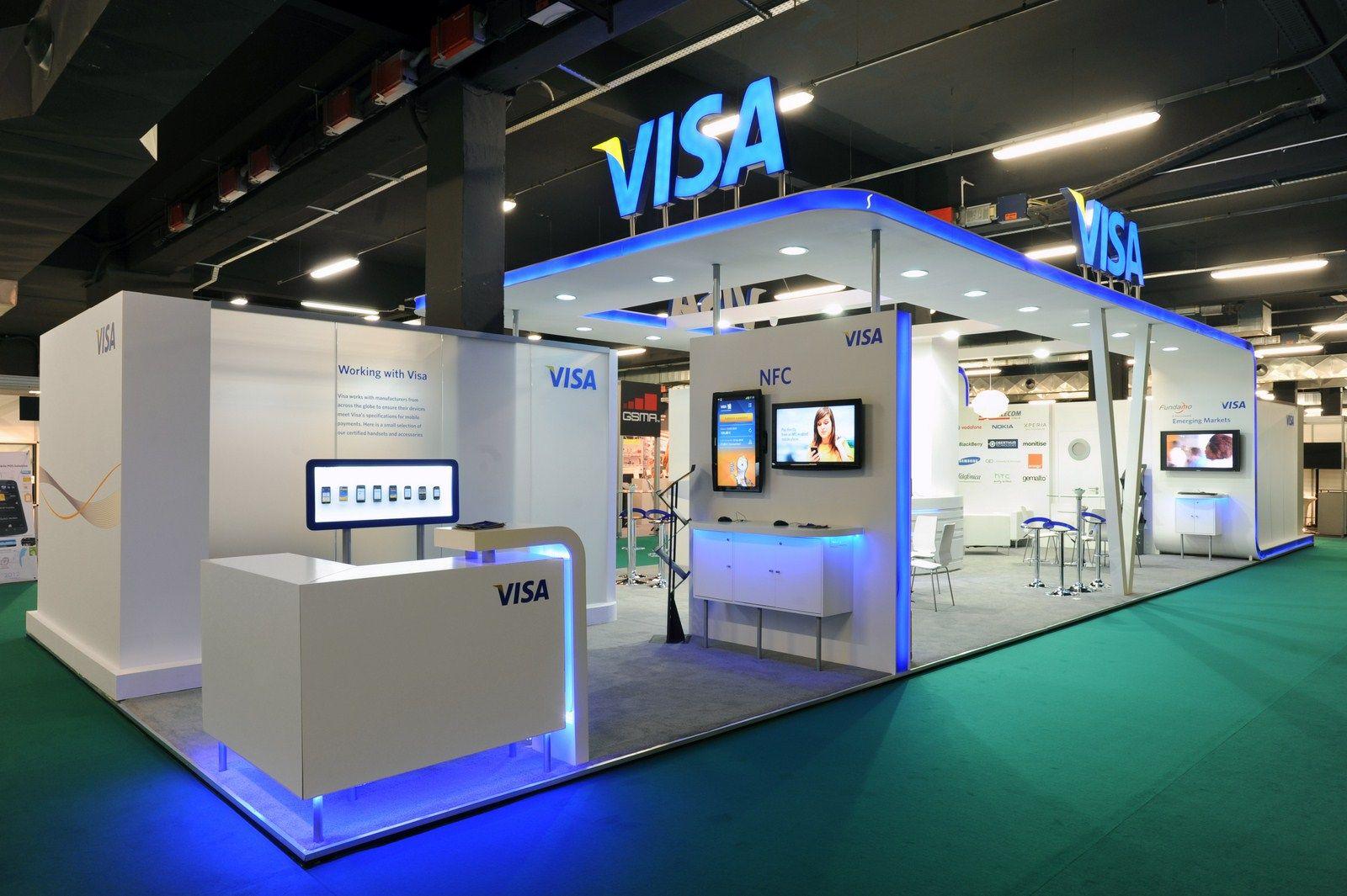 Visa Mobile Money Rome Exhibition Ideas Pinterest