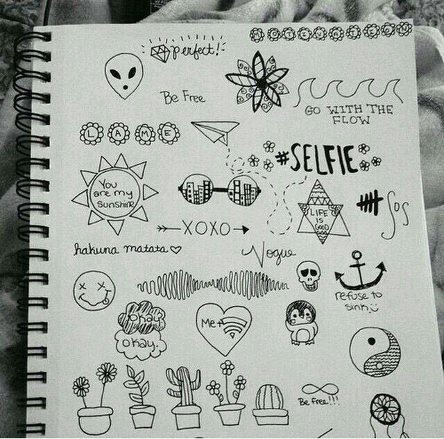 Tumblr Grunge Drawing Drawings Doodles Art Doodle Art