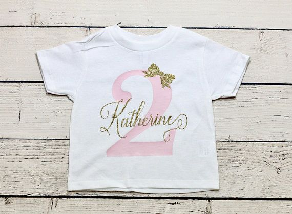50220151 Personalized birthday shirt | Second birthday shirt, two birthday shirt,  Birthday girl , Birthday, 2