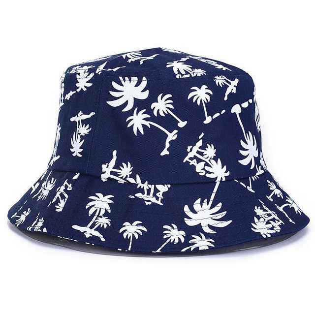 522fbb8f Pineapple Printed Bucket Hats For Women Fashion Lovely Summer Casual Cotton  Fishing Hats