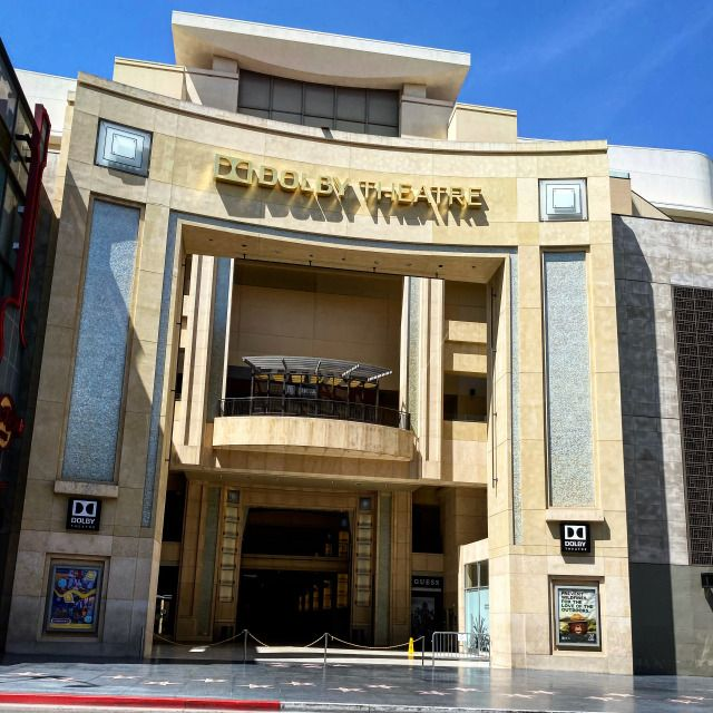 A rare quiet moment in front of the home of The Academy Awards, The Dolby Theatre, on the walk of fame. #GlitteratiToursLA
