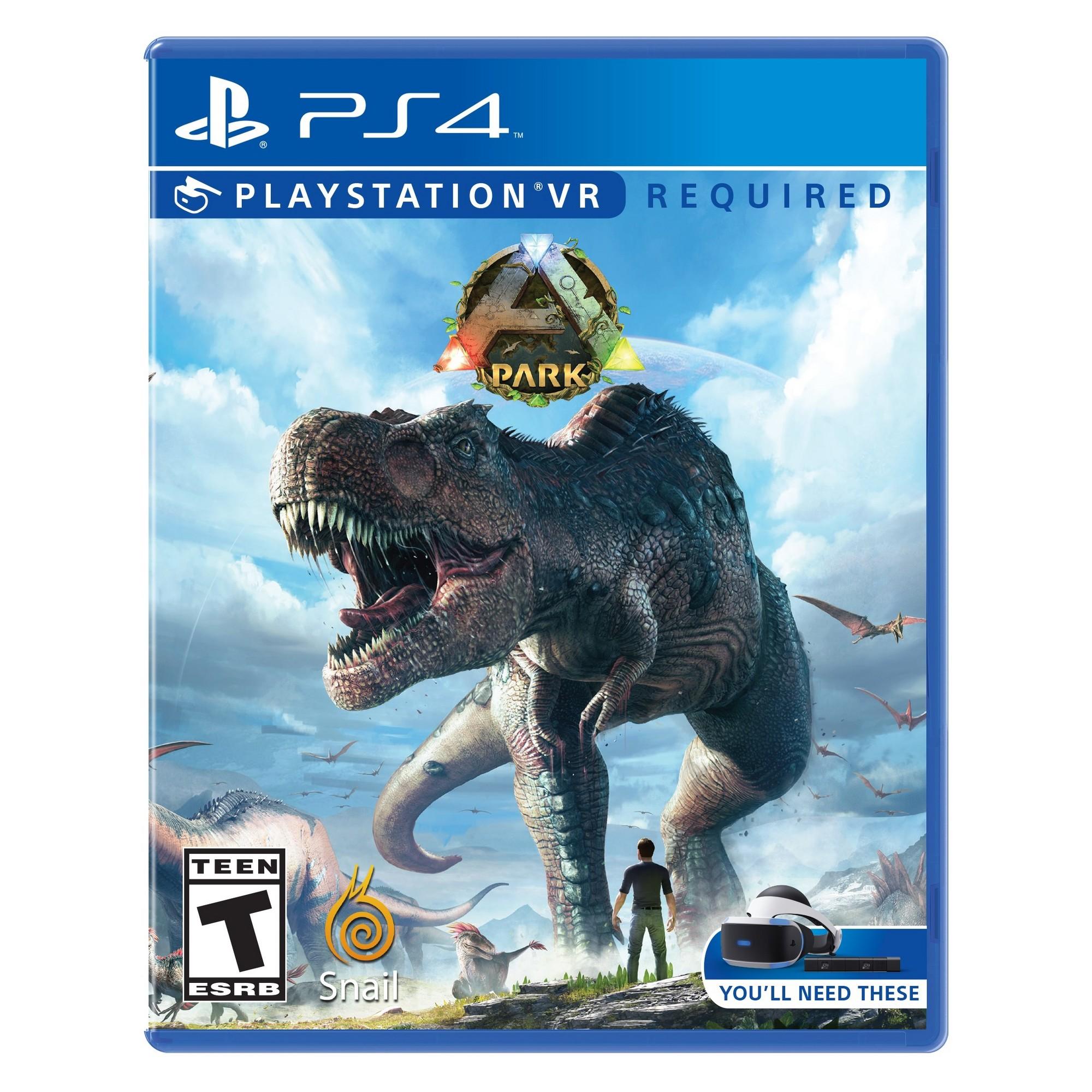 ARK Park PlayStation VR Dinosaur theme park, Ps4