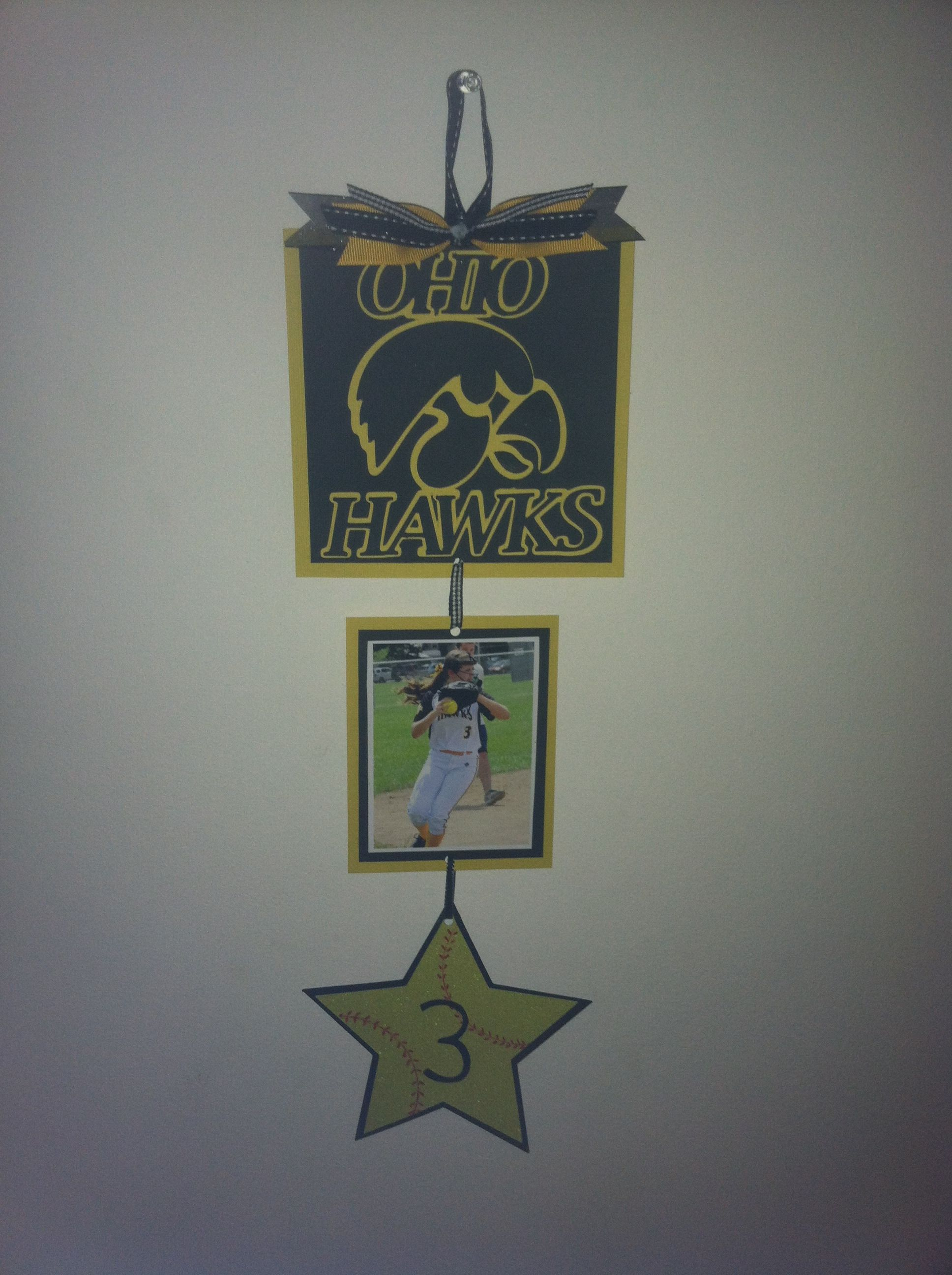 Sports hotel door sign ideas for madi and kate for Hotel door decor