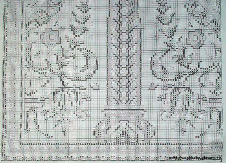 Gallery.ru / Фото #1 - PANNA ПД-423 - kippariss | bordado otomano ...