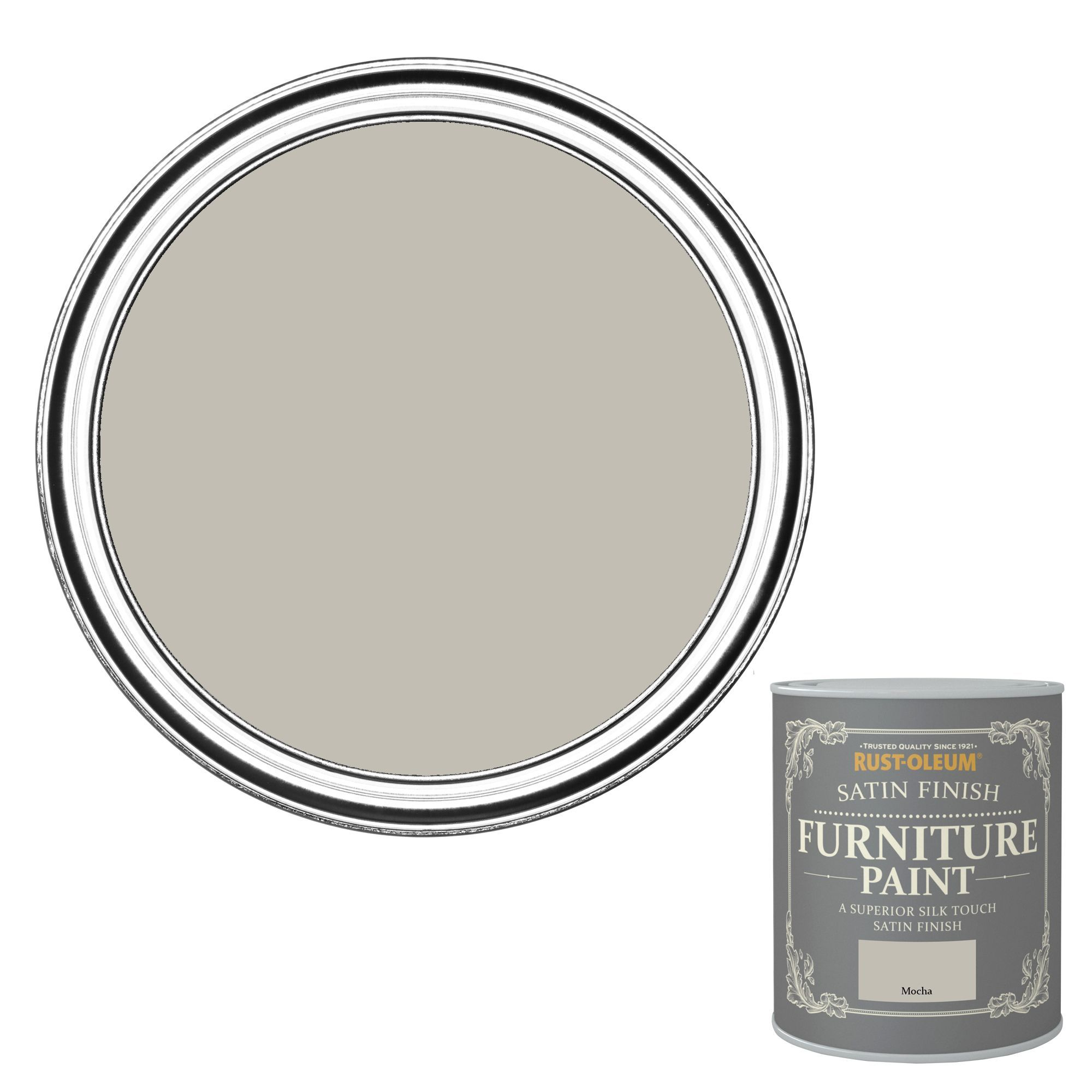 Rust Oleum Mocha Satin Furniture Paint 750ml Departments