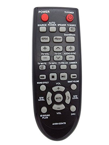 Remote Control Replacement Sound Bar Remote Control for Samsung HWF450ZA HWF450 PSWF450 AH68-02644D-00