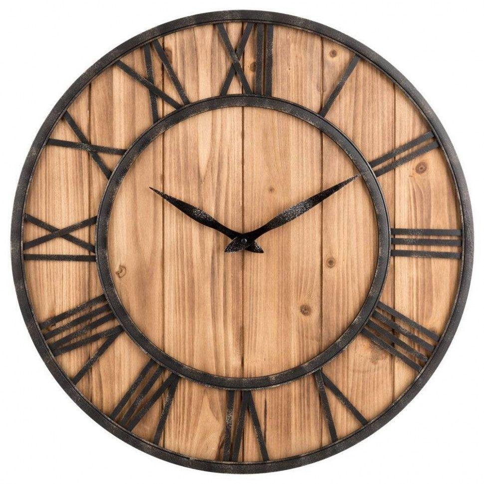 Deko Uhren Wohnzimmer  Rustikale wanduhren, Wanduhr vintage