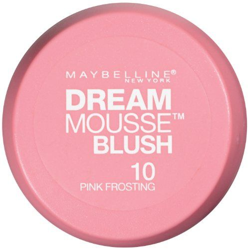 Maybelline New York Dream Mousse Blush 10 Pink Frosting 02 Ounce -- Be sure to check out this awesome product.