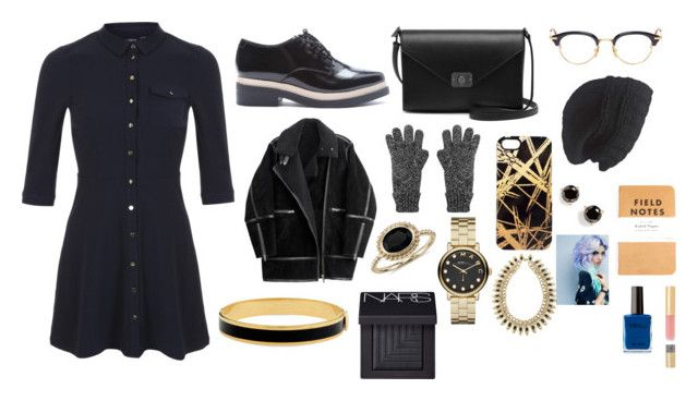 """""""February 16, 2016"""" by gmoney21 ❤ liked on Polyvore featuring Miss Selfridge, Forever 21, Marc by Marc Jacobs, Mally, H&M, Mulberry, Blue Nile, Thom Browne, Laundromat and Khristian Howell"""