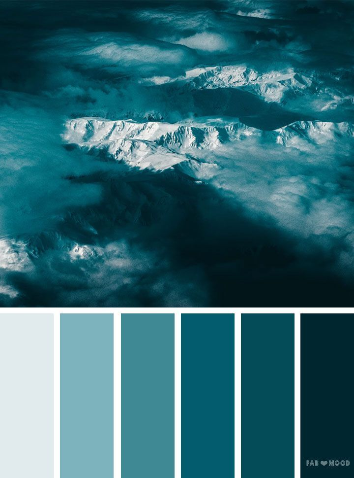 Find The Blue Inspiration That Fits You At Insplosion Com Farbschema Farbpalette Blau Farbpalette