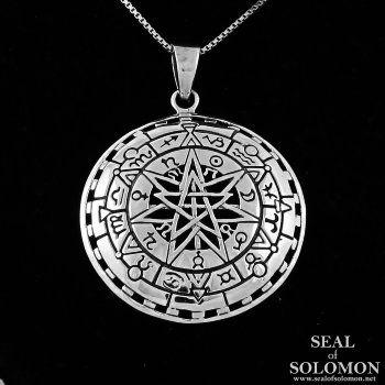 Sterling silver heptagram septagram faery star necklace astrological sterling silver heptagram septagram faery star necklace astrological symbols aloadofball Gallery