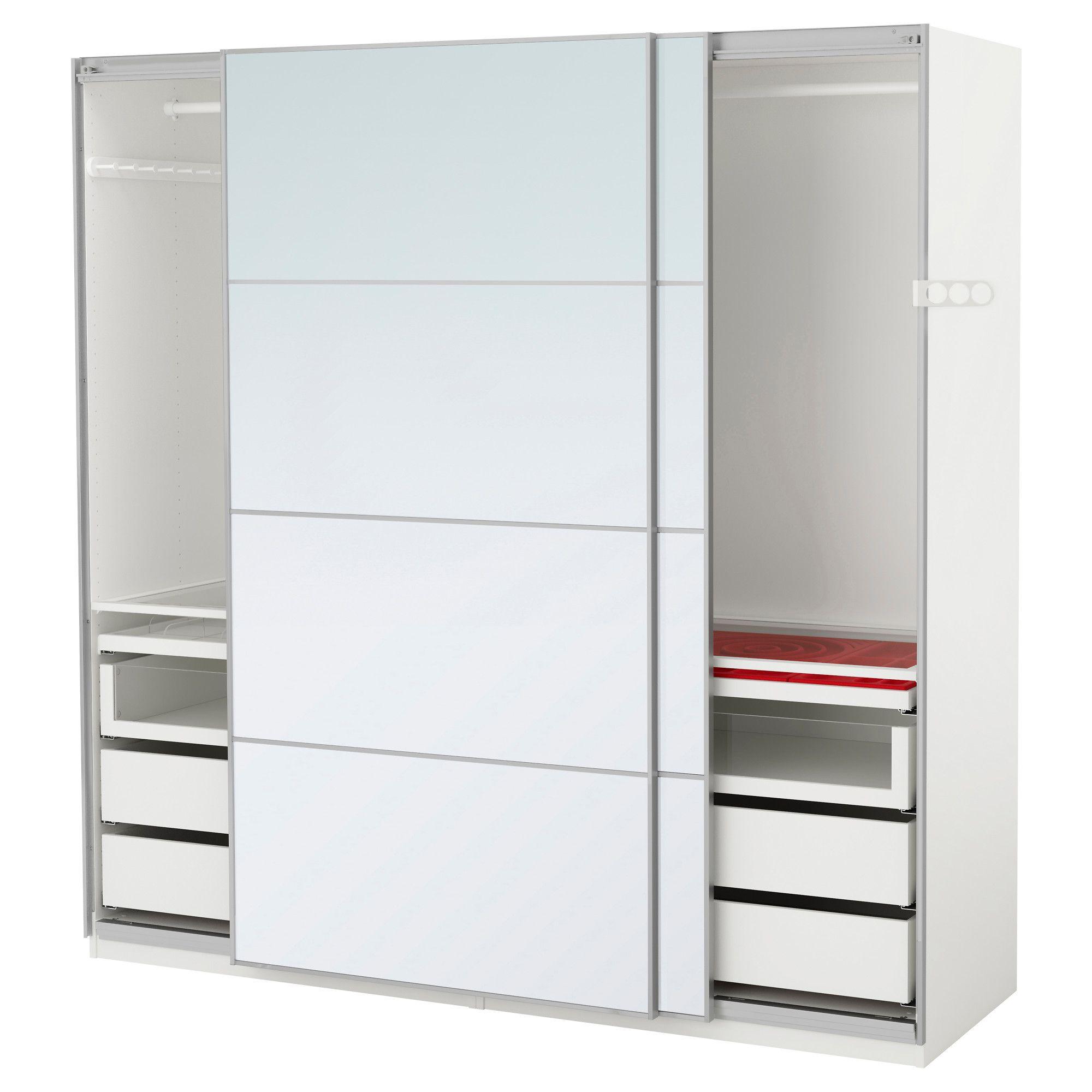 Pax Vaatekaappi 200x66x201 Cm Oven Vaimennin Ikea Storage  ~ Organizacion De Armarios Empotrados