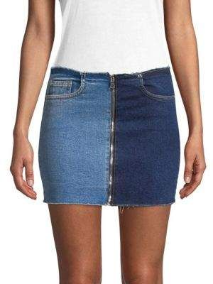 621947a4d Cotton Citizen Denim Mini Skirt. Cotton Citizen Women's Denim Mini Skirt  Denim Skirt Outfits ...